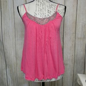 Candies Pinkish Peach Tank Top! Medium!